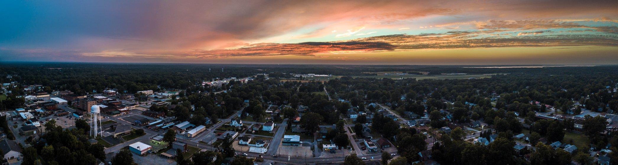 Benton at Sunset