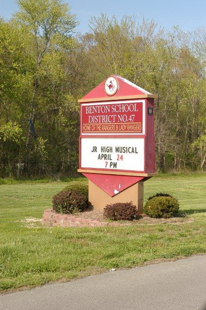 benton-high-school-sign